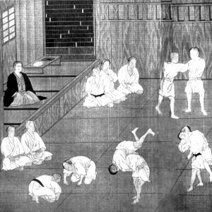 """Nel 1870 giunse a Tokyo dalla cittadina di provincia Hyogo, ove risiedeva con la sua famiglia, il giovinetto Jigoro Kano per continuare la sua formazione scolastica in Istituti d'Istruzione della Capitale. Essendo di piccola statura, e desiderando di irrobustirsi nel fisico piuttosto gracile praticò intensamente l'educazione fisica ed alcuni sport occidentali, fra cui il baseball. Successivamente, dal 1877, anche per rintuzzare la rudezza dei suoi compagni di scuola, si interessò alle """"arti marziali"""""""