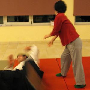 Ho riflettuto sul fatto che l'Aikido mi stava dando tanto dal punto di vista della crescita personale e non trovavo giusto che persone con abilità diverse dalle mie non potessero accedere a questa magnifica arte marziale...