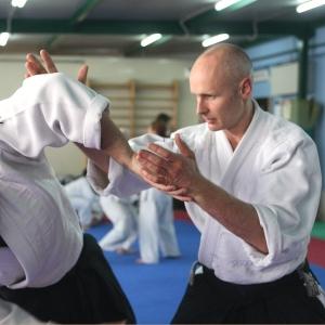 Napoli, giugno 2008 stage con Thorsten Shoo insegnante professionista dell'Aikikai Francoforte