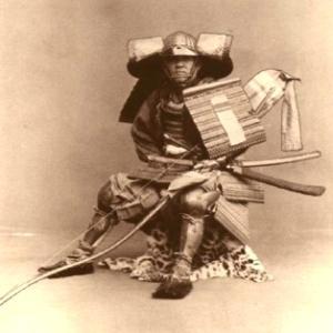 Antiche foto dei samurai