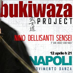 Lezione di Armi m°Nino Dellisanti  5°dan Aikido, Jodo, Iaido  12 aprile h21 Napoli  Movimento Danza