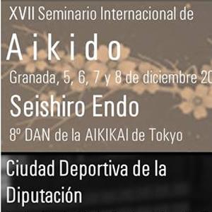 XVII Seminario Internacional de Aikido Granada 5, 6, 7 y 8 de diciembre 2013  Seishiro  Endo 8° dan de l'AIKIKAi de Tokyo
