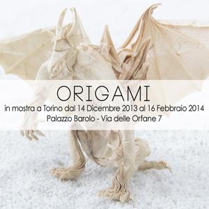 Origami, Spirito di Carta è la mostra dedicata agli origami ospitata dal 14 dicembre 2013 al 16 febbraio 2014 nelle storiche cantine di Palazzo Barolo, nel centro di Torino.