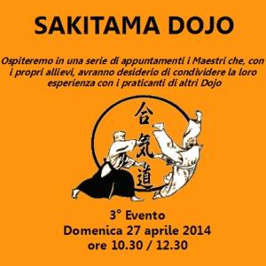 Domenica 27 Aprile 2014 0re 10,30: 12,30 Stage di aikido presieduto da: m° F.Morari e W. Francia