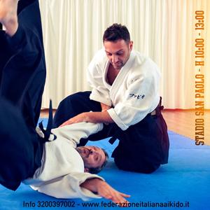 Aikido Special Keiko 7 Febbraio 2015. Stadio San Paolo. Napoli