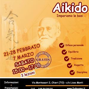 Corso di Aikido a Chieri. (TO)