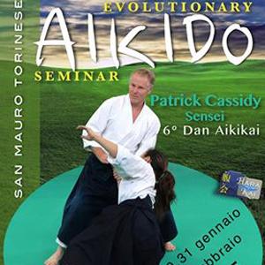 Evolutionary Aikido Seminar con il M° Patrick Cassidy 6° Dan Aikikai