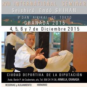 Stage del M°Endo a Granada. 4, 5, 6,7 Dicembre 2015