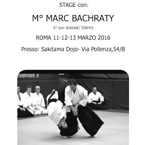 Stage con il M° Marc Bachraty