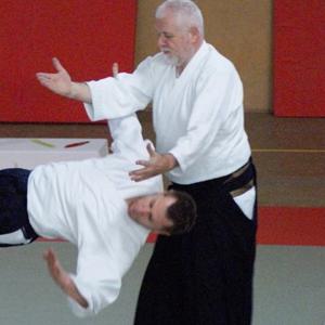 L'Accademia di Aikido e Cultura Tradizionale Giapponese a.s.d. è lieta di invitarVi allo stage di Aikishintaiso e Aikido Kobayashi Ryu diretto da André Cognard VIII°Dan - Hanshi Dai Nippon Butoku Kai