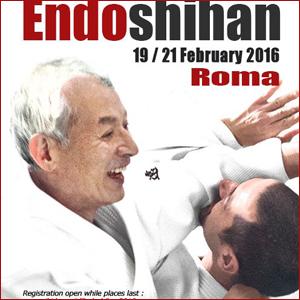 Stage di Aikido con il M°Endo 19-21 febbraio - Roma