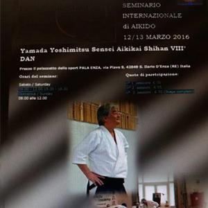 Seminario Internazionale di Aikido Info: 3382970160