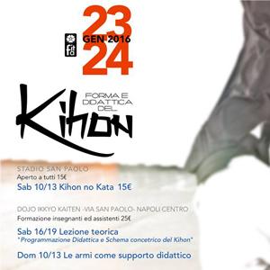 Forma e Didattica del Kihon Napoli, 23/24 Gennaio 2016