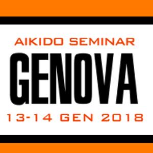 Aikido Seminar Genova 13-14 Gennaio 2018 presso Dojo A.S.D. Judo Prà  Genova
