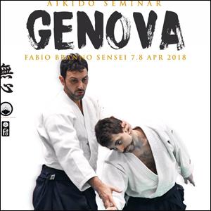 Aikido Seminar Genova con il M° Fabio Branno